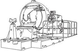 付図8 クランク軸旋盤(21F3)
