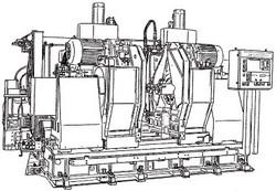 付図23 クランク軸フライス盤(51F5)