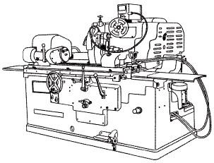 円筒研削盤 - 工作機械