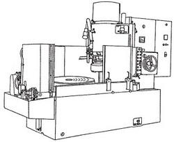 付図27 立て軸回転テーブル形平面研削盤(6132)