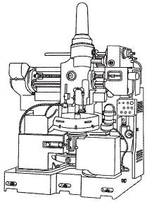 付図35 歯車形削り盤(8112)