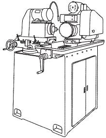 付図38 歯車面取り盤(8132)