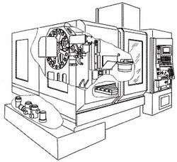 付図47 立て形マシニングセンタ(C24)